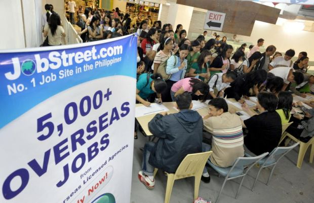 Some 10% of the workforce in the Philippines works overseas capitalizing on fluent English skills to support families back home.