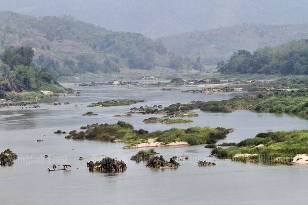 Beijing wants this part of the Mekong 'made smoother' by blasting the islets and outcroppings to smithereens. (Bangkok Post file photo)