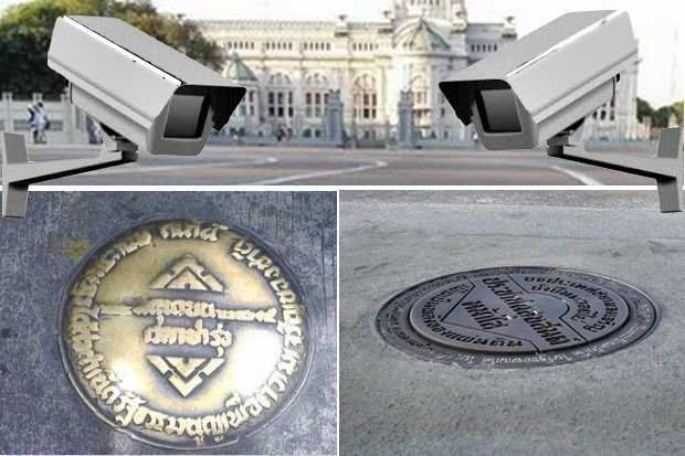 City Hall claims it put cameras up at the Royal Plaza but then took them down on March 31 while it was upgrading traffic lights.
