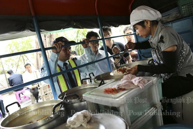 Those street-food venues that remain open with be subject to stricter safety standards and limited hours of operation.  PATIPAT JANTHONG.