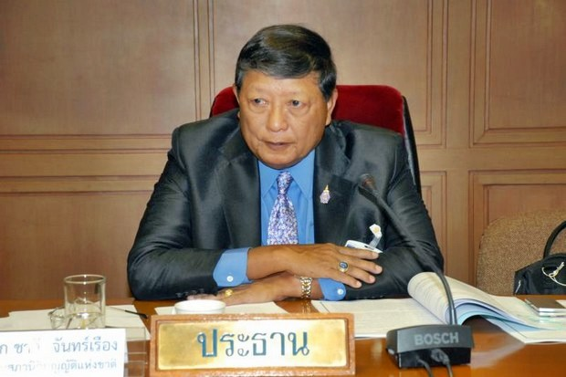 National Legislative Assembly member ACM Chalee Chanruang will handle the media-control bill when it reaches the NLA, and says it will face strong opposition. (Photo via PRD)