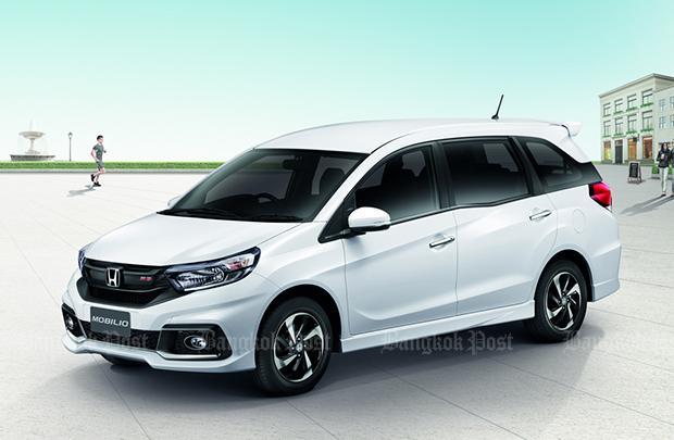 2017 Honda Mobilio Facelift Thai Pricing And Specs Bangkok Post Auto