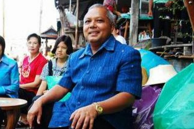 Suebsak Iamwicharn, current governor of Mae Hong Son province, is alleged to be a participant in the sex-trafficking ring. (Photo via Facebook)