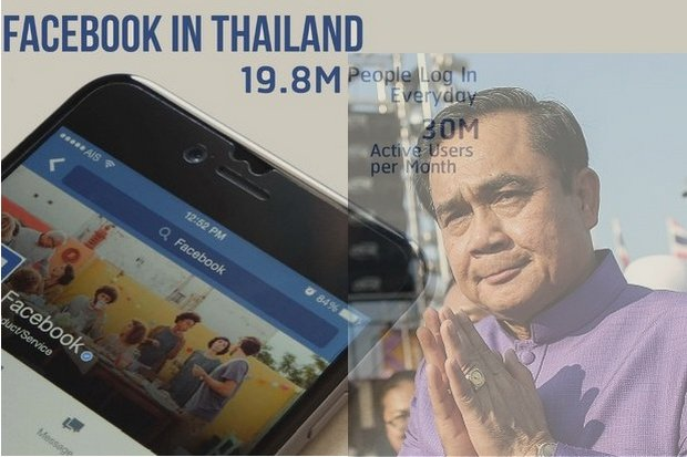 Thailand could lose all access to Facebook on Tuesday as the military regime puts up a hardball command: Censor 131 posts or lose millions of Thai users.