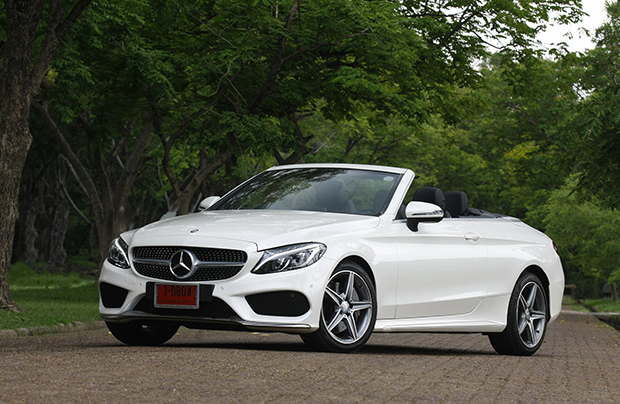 Mercedes Benz C300 Cabriolet Amg Dynamic 2017 Review Bangkok Post Auto