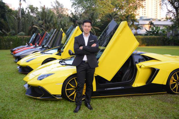 Niche Cars managing director Vittawat Chinabarramee is moving into used supercars.