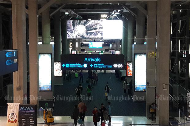 Suvarnbhumi international airport (Bangkok Post file photo)