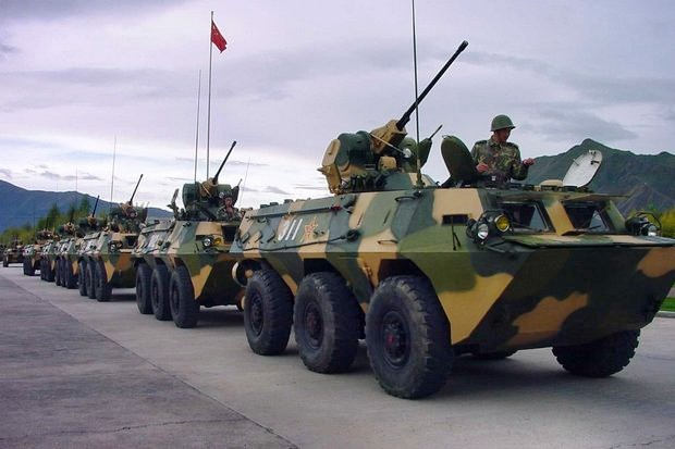 The Royal Thai Army ordered 34 VN-1 armoured cars from China in March. The vehicles also are known as the export version of China's ZBL-09 Snow Leopard armoured personnel carrier. (Photo via China Defence)