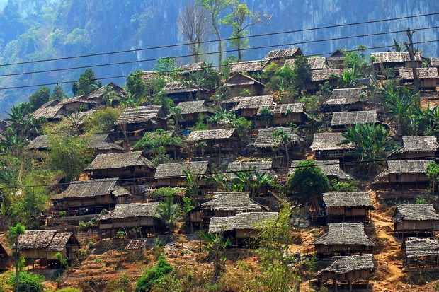 A small section of the Mae La refugee camp in Tak province. The camp has been home to thousands of Myanmar refugees since 1984. (Creative Commons via Wikipedia)