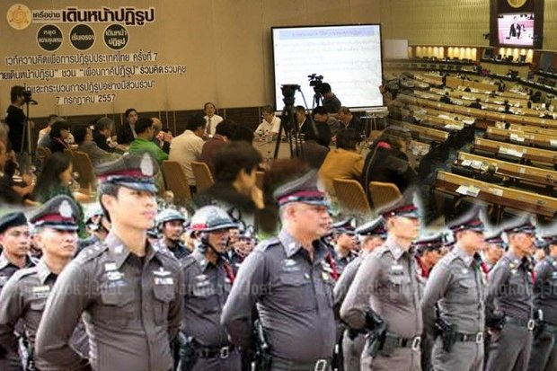 A new committee led by former supreme commander Gen Boonsang Niempradit has been appointed by the government to reform the police, with a deadline of next March for its first report.