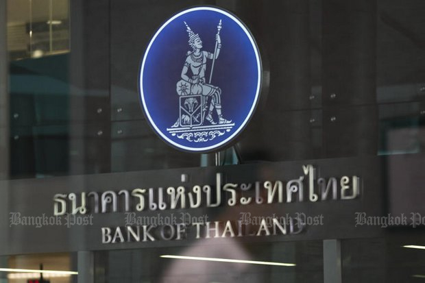 A senior banker is claiming the Bank of Thailand directly dumped baht into the international currency market last week to prevent further strengthening.