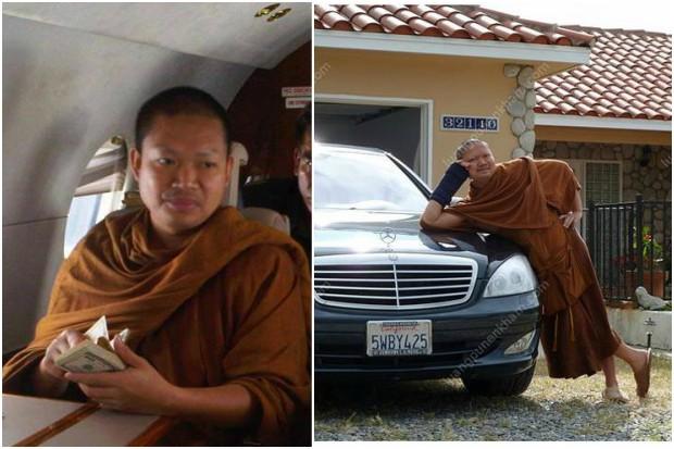 Pictures of Nen Kham from Facebook. (Facebook photos)