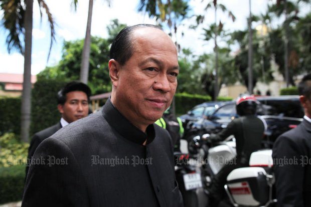 Gen Anupong Paojinda, Minister of Interior: In charge of corruption and abuse-of-power investigations. (Post Today file photo)
