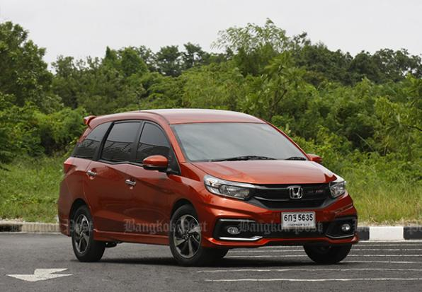 Honda Mobilio Rs Facelift 2017 Review Bangkok Post Auto