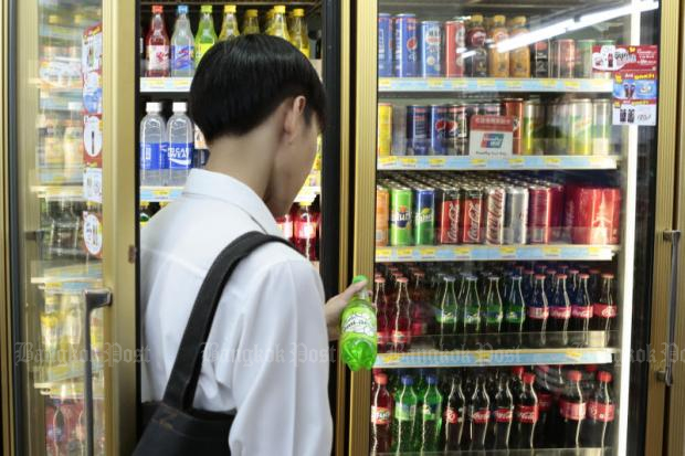The new excise law, come into force on September 16 targets a range of ready-to-drink beverages. PATIPAT JANTHONG