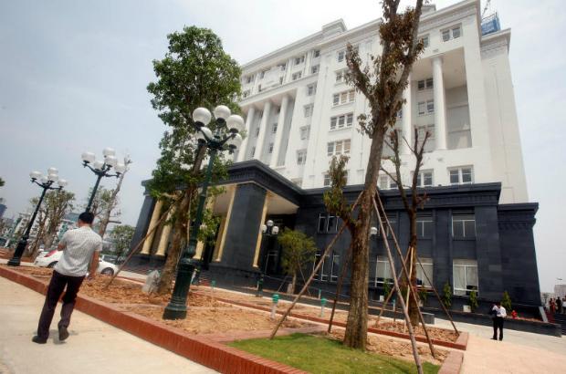 The High People's Court is seen in Hanoi, Vietnam, Sept 22, 2016. (Reuters photo)