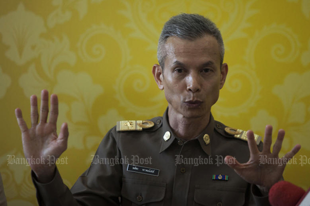 On Aug 29, the cabinet transferred Pol Lt Col Pongporn from the NOB, naming him as an inspector-general at the Prime Minister's Office. (Bangkok Post file photo)