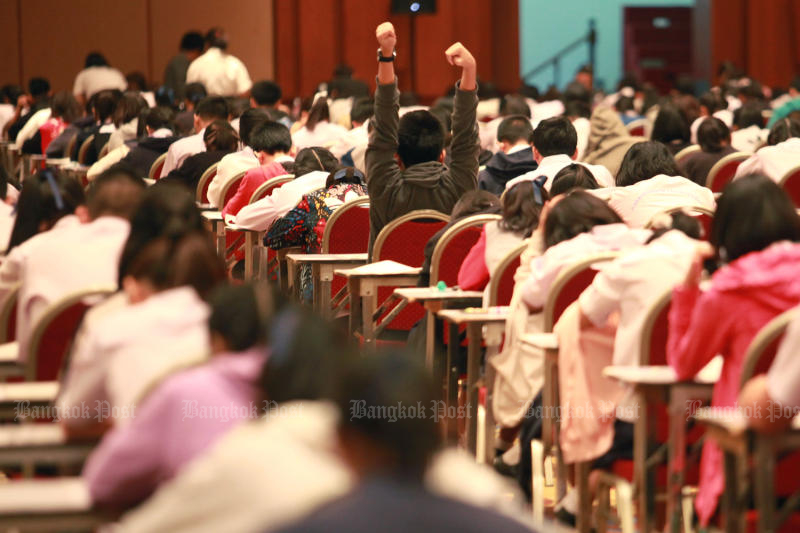 ACT cancels some college entrance exams after test leak