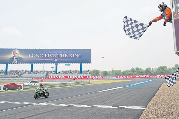 Buri Ram's Chang International Circuit will be a venue for the MotoGP World Championship superbike next October.