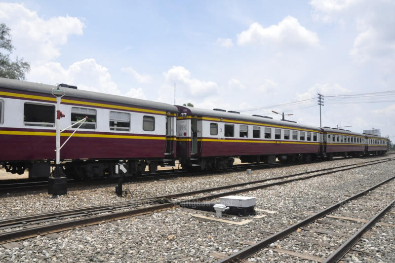 The Office of Transport and Traffic Policy and Planning has unveiled a 20-year master plan for rail development, worth more than 2.7 trillion baht. (Bangkok Post file photo)