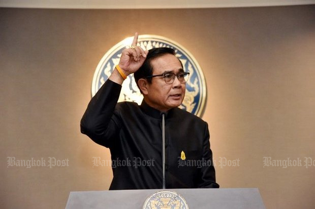 Prime Minister Prayut Chan-o-cha, who chairs the committee charged with writing a 20-year national plan, says it's all a matter of fine-tuning. (Post Today photo)