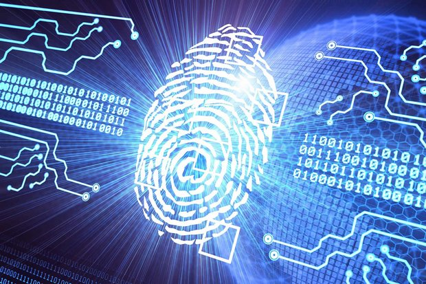Digital identities combine biometrics such as fingerprints and eyescans with ID card numbers to produce a unique identity for each person. (Creative Commons illustration)