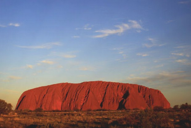 Australia's famed outback monolith, Uluru, sacred to Aborginal people. (Reuters file photo)
