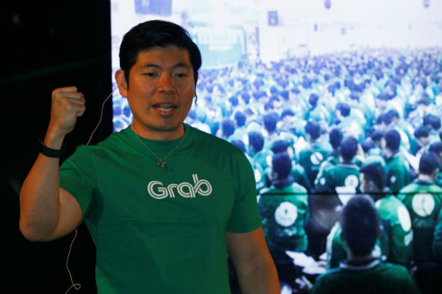 Grab's CEO Anthony Tan speaks during Grab's fifth anniversary news conference in Singapore June 6, 2017. (Reuters file photo)