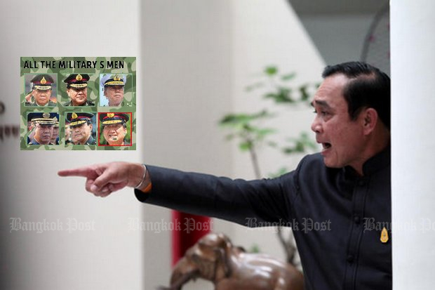 'Prayut Government 5' is coming, with the prime minister about to fire some of his men in uniform and bring in civilian ministers to replace them.
