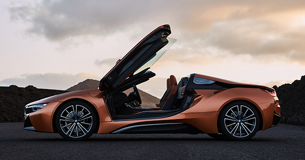 Bmw I8 Roadster Revealed In Production Ready Form Bangkok Post Auto