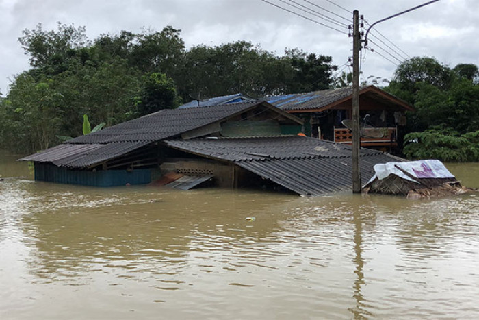 All of Songkhla declared flood disaster area
