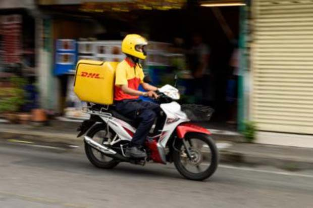 DHL makes 50,000 deliveries a day in Thailand.
