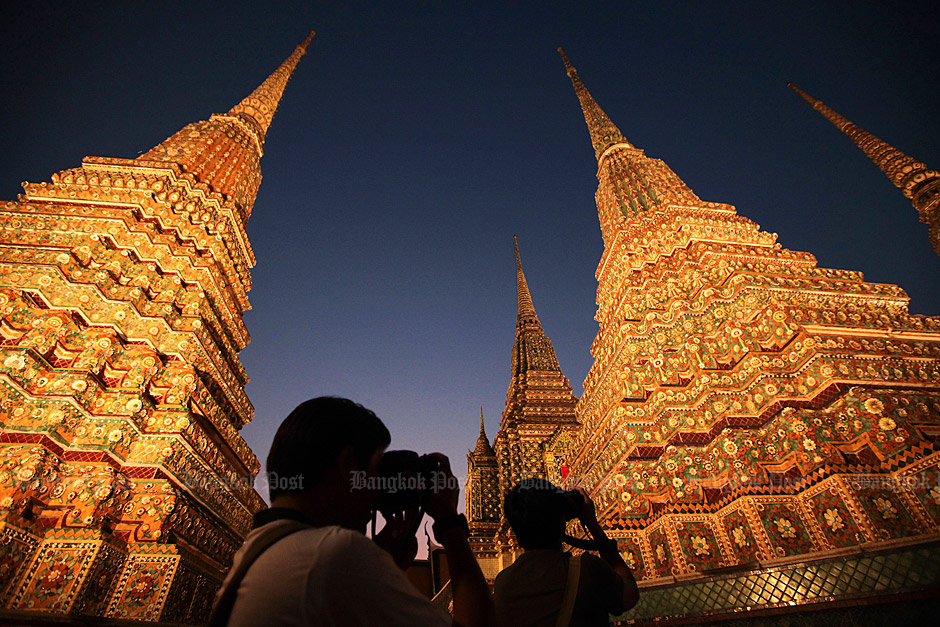Top attraction: Wat Pho is ranked as the No.1 landmark in Thailand in this year's TripAdvisor's rankings. The temple will celebrate the 230th anniversary of King Rama I's famous restoration of the site next month. Photo: Patipat Janthong