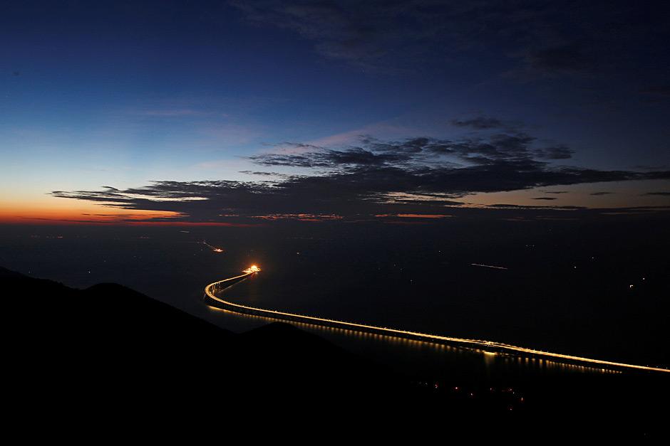 World's longest sea bridge