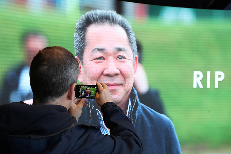 Leicester City mourn and honour Vichai