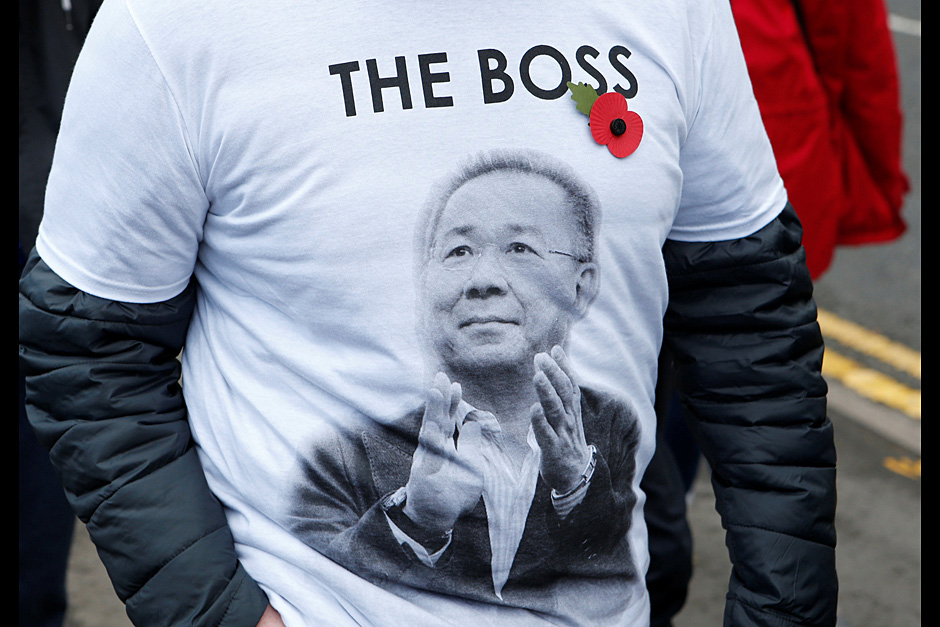 March for Vichai in Leicester