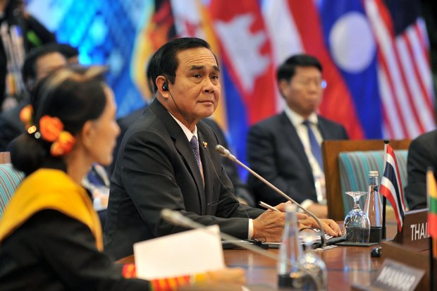 Prime Minister Prayut Chan-o-cha at the 31st Asean Summit in Manila in mid-November. Thailand will spend much of the year preparing to take over as chairman of Asean from Singapore in 2019. (Photo courtesy Ministry of Foreign Affairs)