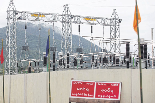 A power plant has been operating in the Dawei Special Economic Zone since 2015 but many substantial investments expected at the site have still not materialised. Photo: Jiraporn Kuhakan