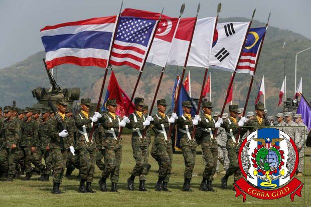 The opening of Cobra Gold 2017 in Chon Buri province. The Supreme Commander said Wednesday that more countries are applying to join the war games than the exercises can comfortably handle. (Reuters file photo)