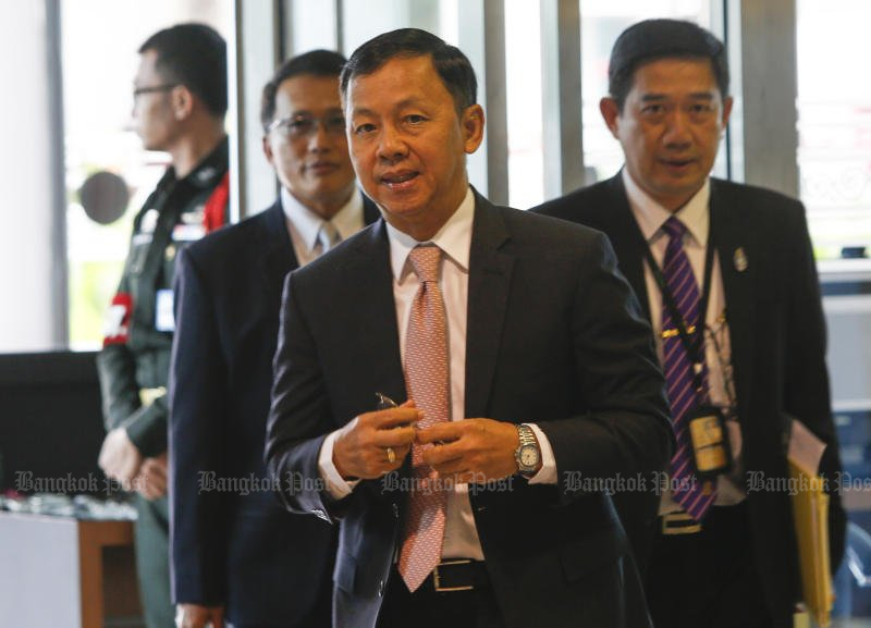 Watcharapol Prasarnrajkit, president of the National Anti-Corruption Commission (NACC), has already been criticised over his close tries to both accused watch owner Deputy Prime Minister Prawit Wongsuwon and to Gen Prawit's allegedly unusually wealthy brother, former police chief Pol Gen Patcharawat Wongsuwan. (File photo by Pattarapong Chatpattarasill)