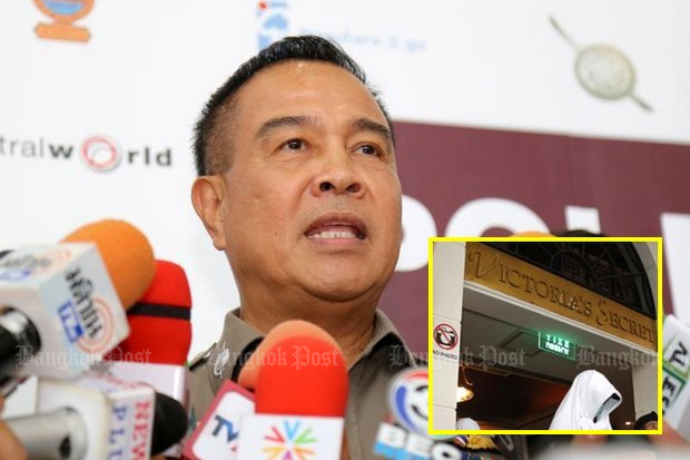 Football Association president and ex-police chief Somyot Poompunmuang admits he's the top cop involved in the investigation of the Victoria's Secret Massage. (Photo handout via FAT)