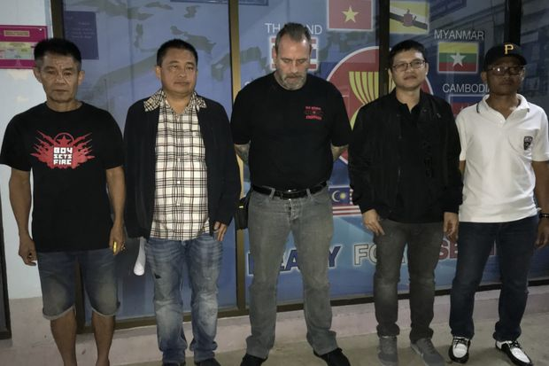 Another Hells Angels member caught
