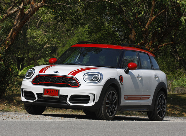 Mini John Cooper Works Countryman 2018 Review Bangkok Post Auto