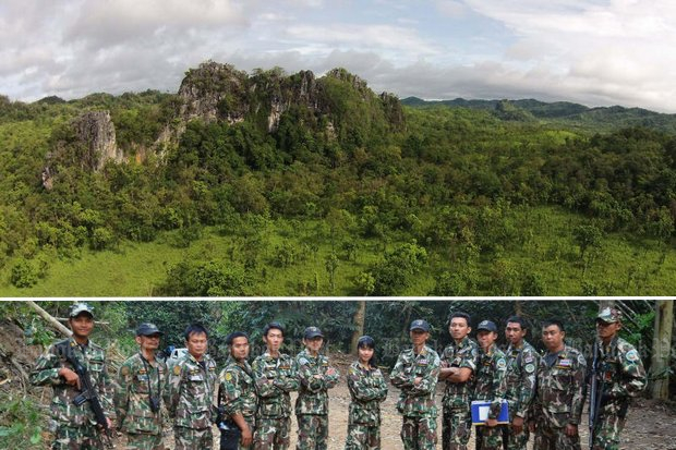 Thungyai sanctuary is one of the country's greatest areas of biodiversity. Bigger than Bangkok and Phuket combined, it has a security force totalling just 200 men and women. (Photos FB/Thungyai-Naresuan-Wildlife-Sanctuary)