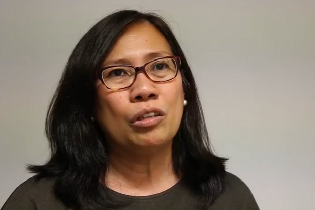 Lillian 'Lan' Mercado, Oxfam International Regional Director for Asia, admitted Wednesday the charity had not been forthcoming about sex abuse allegations in the Philippines, Bangladesh and Nepal. (Photo YouTube/Oxfam in Cambodia)