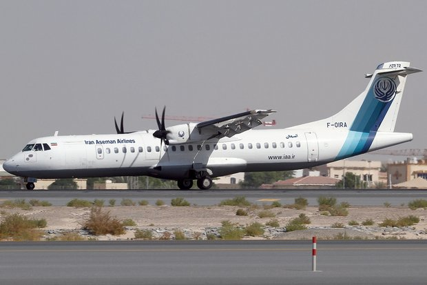 The crash of an Aseman Airlines ATR-72 like this one in Iran killed 65 people. (Creative Commons via Wikipedia)