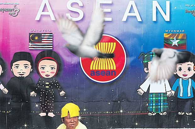 With a sizeable economy, Asean has become more attractive to Turkey, which wants to play a role linking the grouping with Europe. (Bangkok Post file photo)