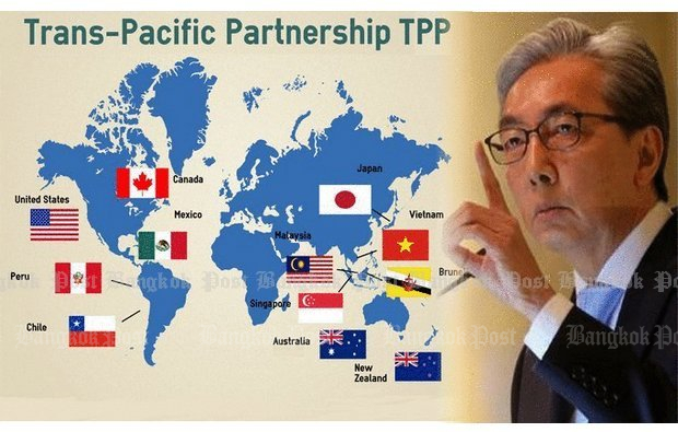 Deputy Prime Minister Somkid Jatusripitak has said in the past that Thailand was leaving its options open about applying to join the Trans Pacific Partnership (TPP).