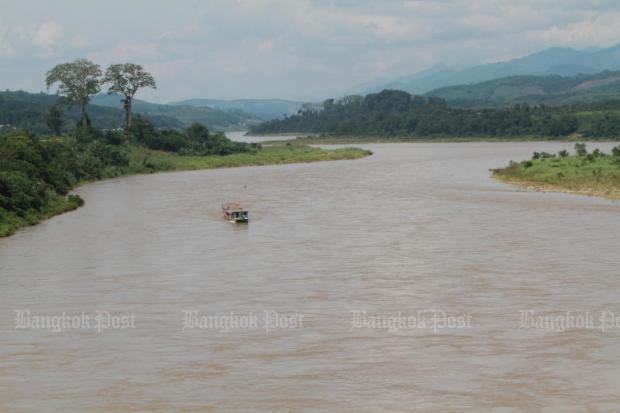 Small freight vessels and passenger cruises have resumed services after the water level of the Mekong River rose. (Bangkok Post file photo)