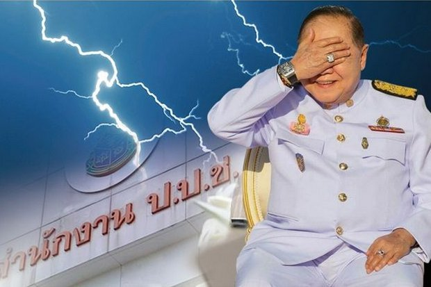 The infamous photograph of Deputy Prime Minister Prawit Wongsuwon showing his million-baht watch and large diamond ring was taken Dec 4 - 101 days ago. The National Anti-Corruption Commission (NACC) has given him four deadlines to explain but he has not responded. (Post Today graphic)